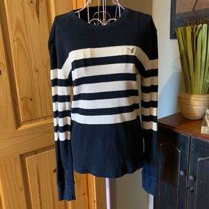 American Eagle Outfitters Thermal Vintage Top XSTP